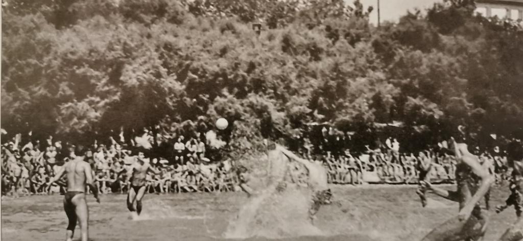 popularnost splitskog regbija 1958. godine na Bačvicama