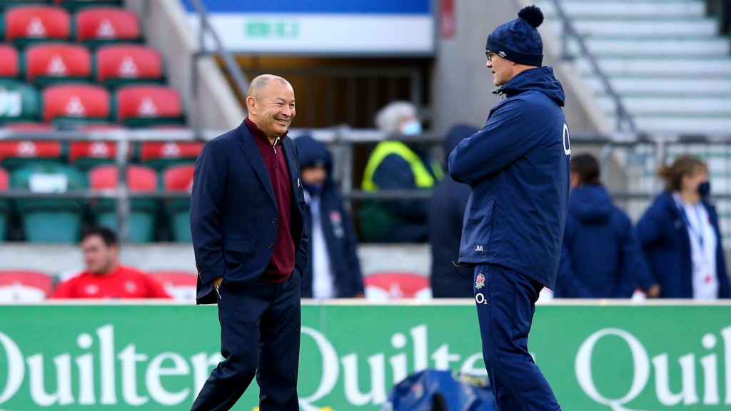 Eddie Jones i John Mitchell